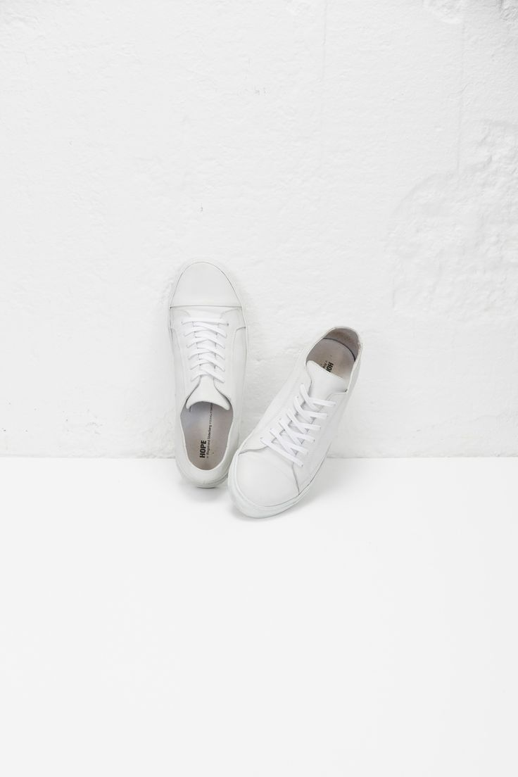 "Hope | SS16 ""Billie Sneaker"" - http://hope-sthlm.com/billie-sneaker-white"