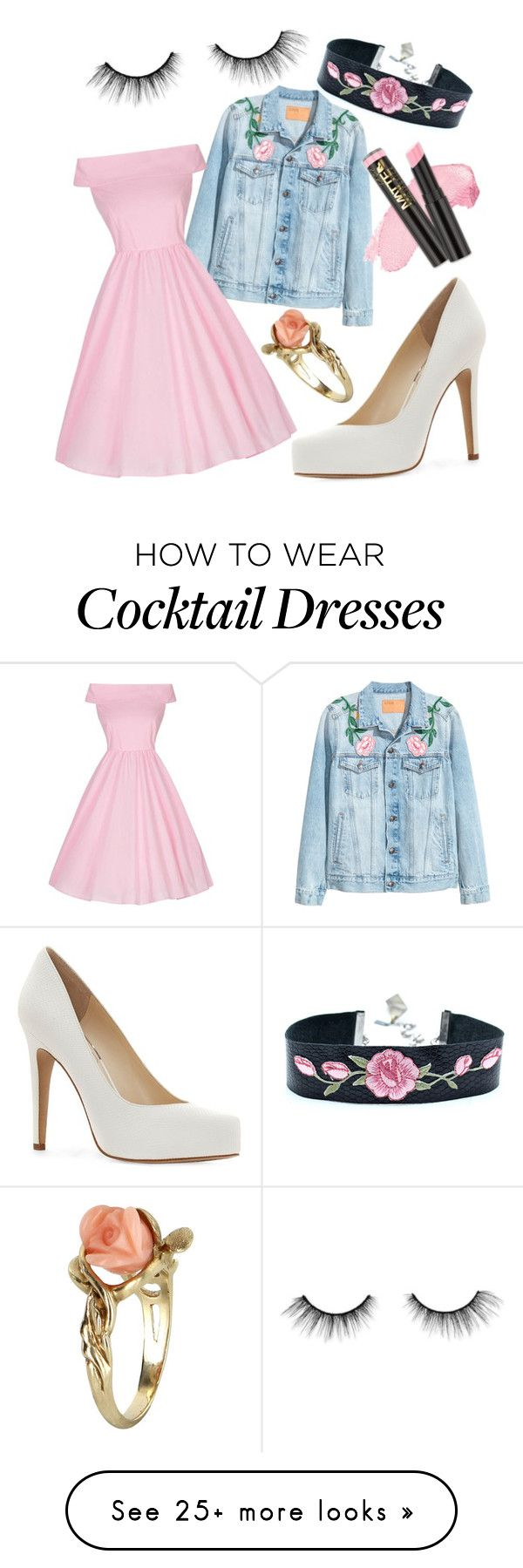 """Cheap Roses"" by aradealer on Polyvore featuring Jessica Simpson, Vintage, tarte and L.A. Girl"