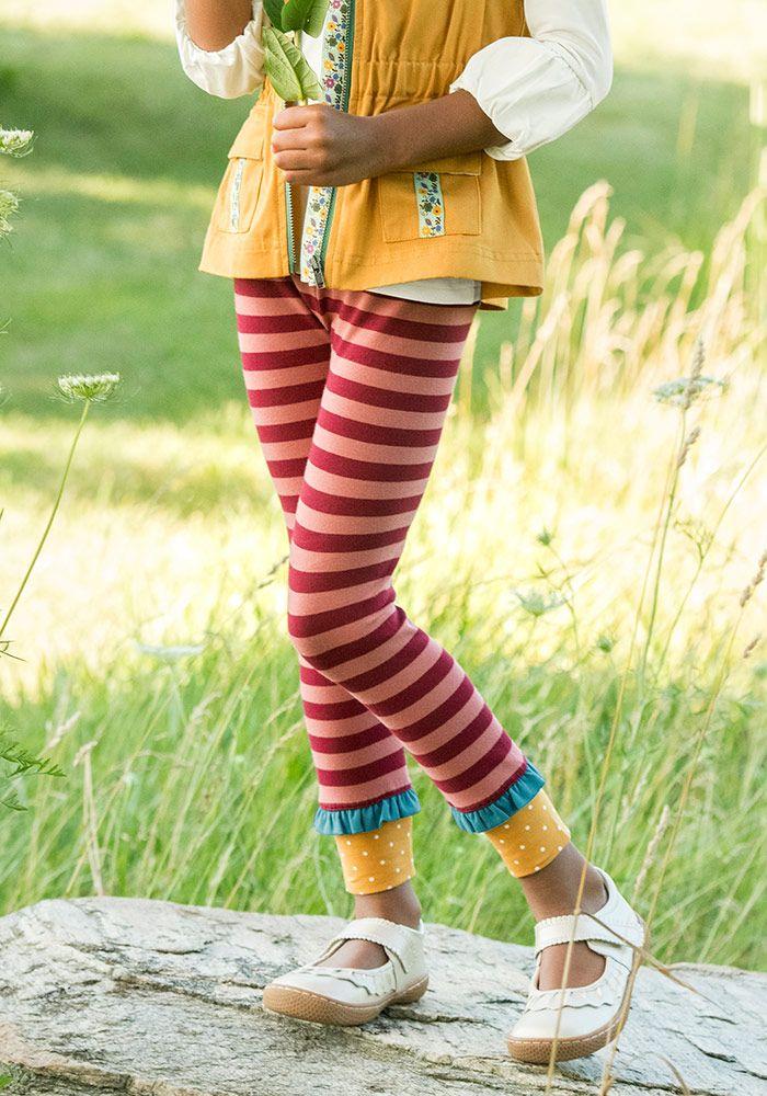 Be Humble Legging Matilda Jane Clothing Legging Striped Leggings Matilda Jane Clothing