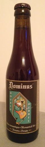 Dominus Dubbel / Double, Brewed at De Koningshoeven, Bavaria, Netherlands - bought in Almaty, Kazakhstan