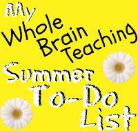 Whole Brain Teaching in Middle School: Summer Checklist for #wholebrainteaching