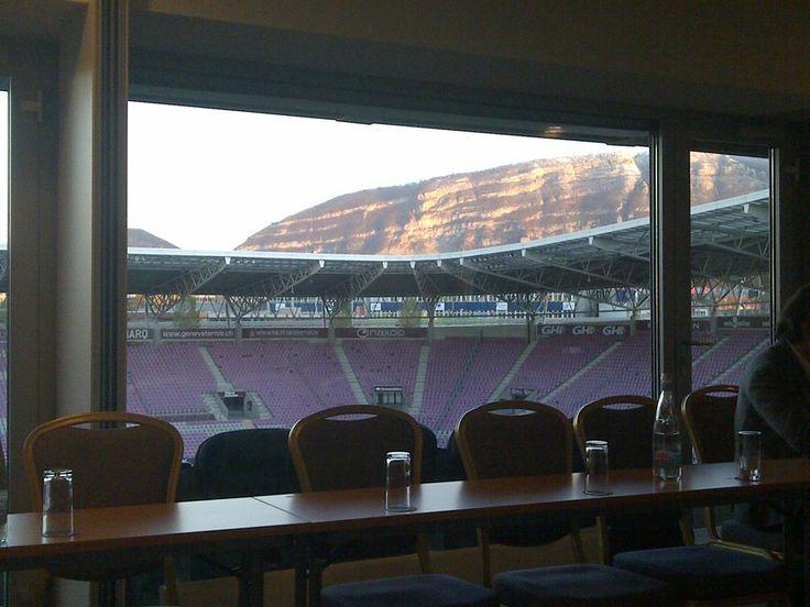 Workshop at Stade de Geneve