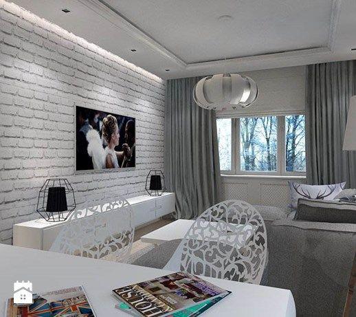 Salon styl Nowoczesny - zdjęcie od BYHOUSE ARCHITECTS