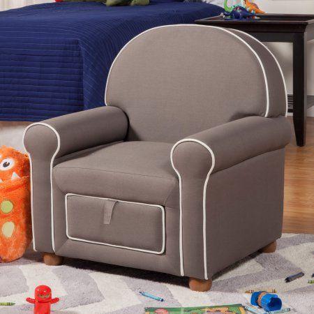 Juvenile Storage Chair, Gray