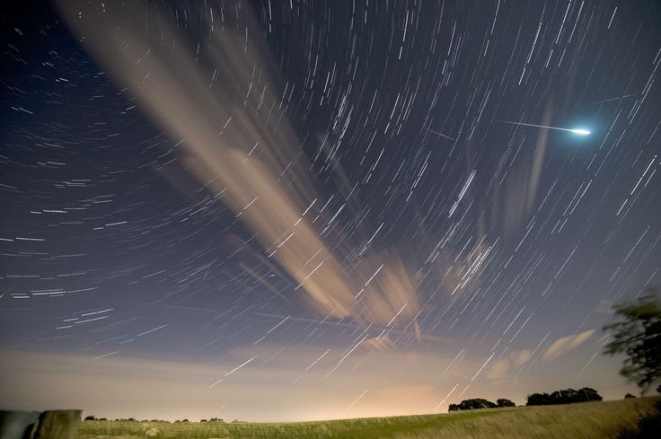 Here comes the Perseid meteor shower!