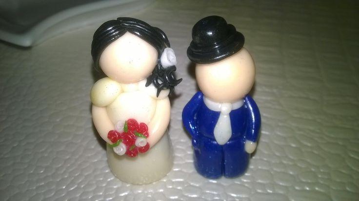 Petit couple de mariés