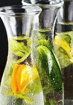 Água aromatizada emagrece e turbina a saúde: 7 receitas poderosas - Bolsa de Mulher
