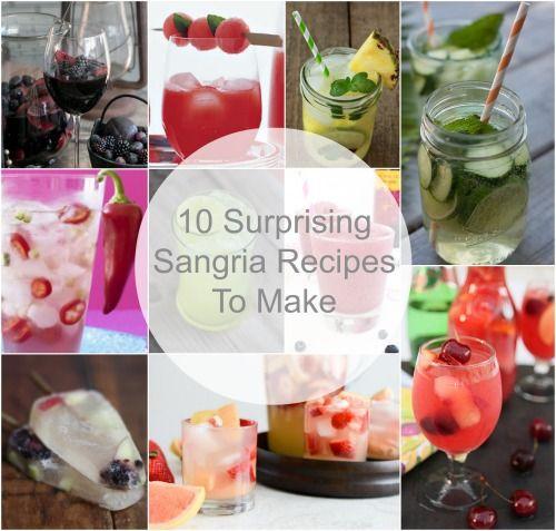 10 Awesome, Easy Sangria Recipes