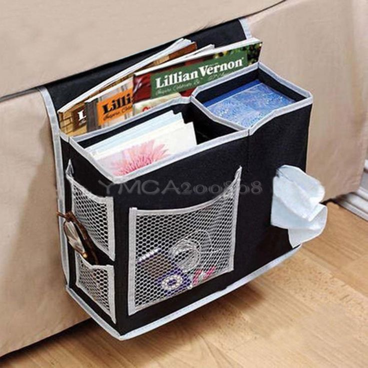 6 Pockets Bedside Storage Organizer Cases Books Remote Control Hanging Bags | Home & Garden, Cleaning, Housekeeping, Home Organisation | eBay!