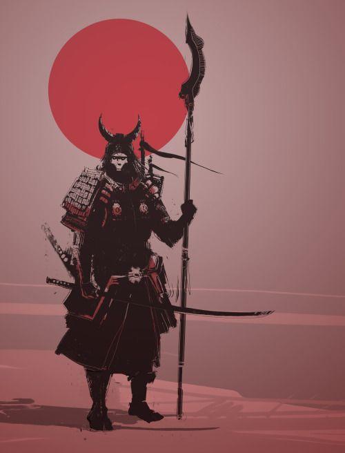 ArtStation - Samurai, Fabien Roumazeilles