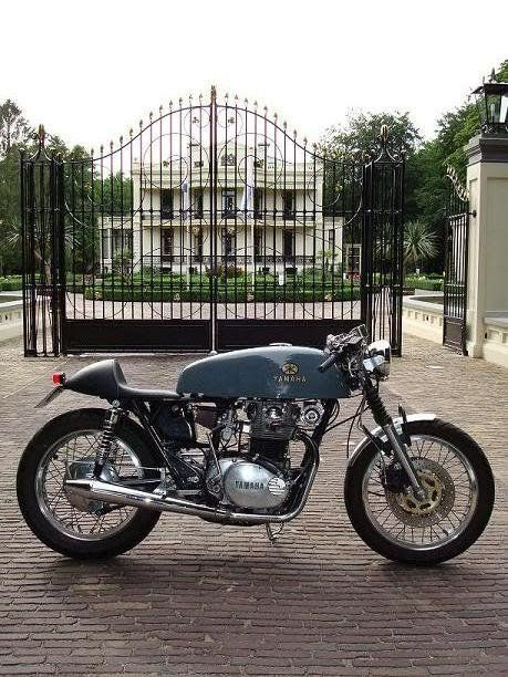 Yamaha Cafe Racer #motorcycles #caferacer #motos   caferacerpasion.com