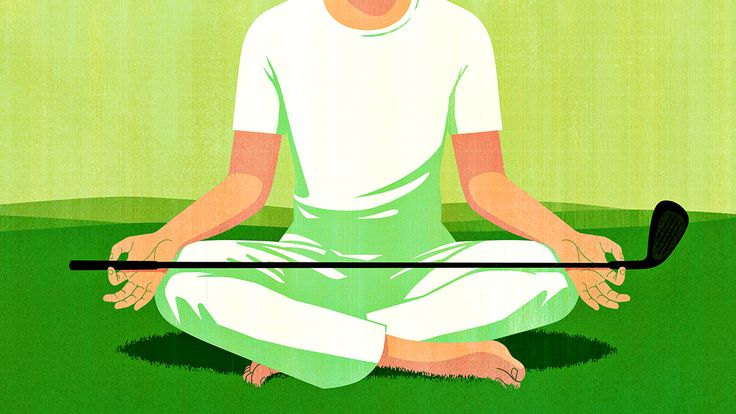 Joey Guidone illustrated a feature on Indian golfers' meditation rituals for ESPN Online, as well as a full page about the Major League Baseball playoffs, for ESPN the Magazine.