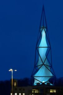 Phänomenta Tower in Lüdenscheid of NPP architects / Foucault pendulum - architecture and architects - News / News / News - BauNetz.de