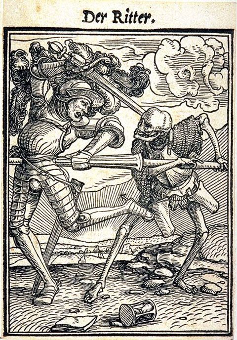 Hans Holbein the Younger, Dance of Death, woodcut