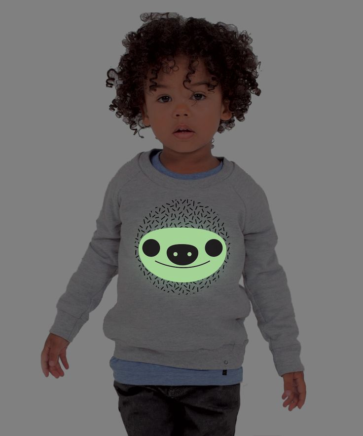 Kids Sweatshirt GLOWING SLOTH