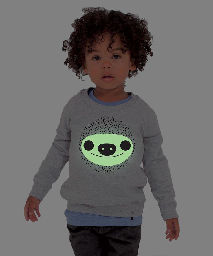 Kids Sweatshirt GLOWING SLOTH