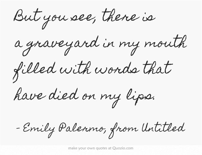 Emily Palermo, from Untitled