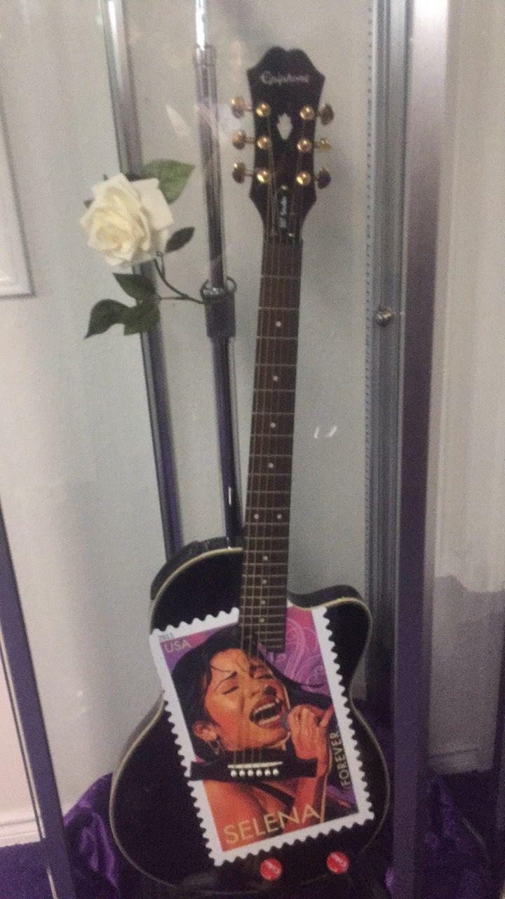 Selena Quintanilla guitar music  Selena museum Corpus Christi Texas