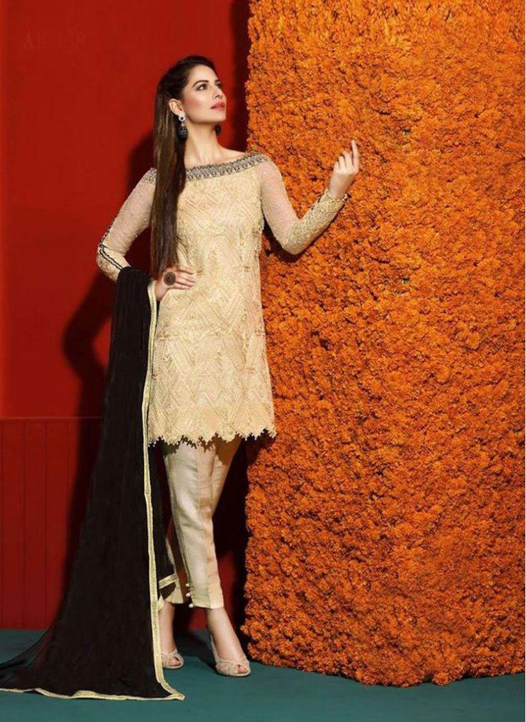 Festival Beige Designer Salwar Suit