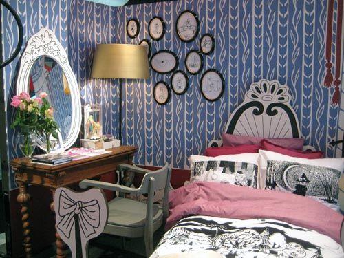 moomins kids bedroom