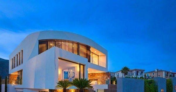 17 mejores ideas sobre frentes de casas modernas en for Mejores fachadas de casas modernas