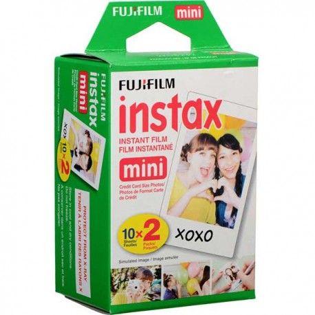 Película Color Instantánea Fujifilm Instax Mini 20 Exposiciones