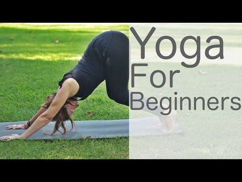 Yoga For Beginners Yoga with Lesley Fightmaster - YouTube