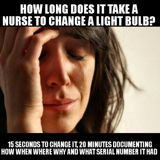 How Long Does it Take a Nurse to Change a Light Bulb ...