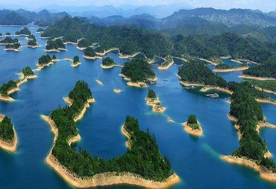 Lac aux mille îles ou lac Qiandao - Chine