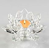 Crystal Flower Tealight Holder