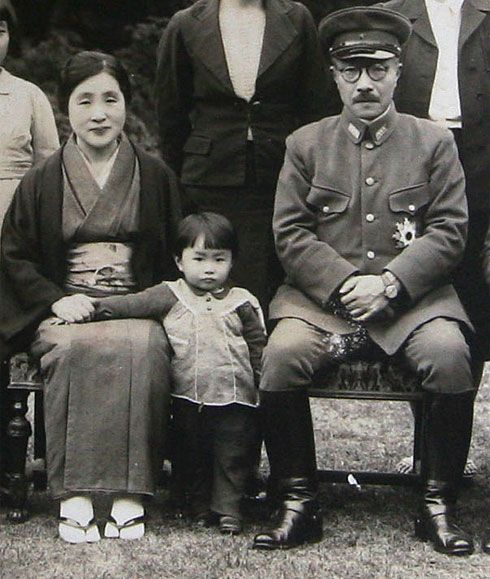 "Tojo_family_1941. This Day in WWII History: Feb 21, 1944: Tojo makes himself ""military czar"""