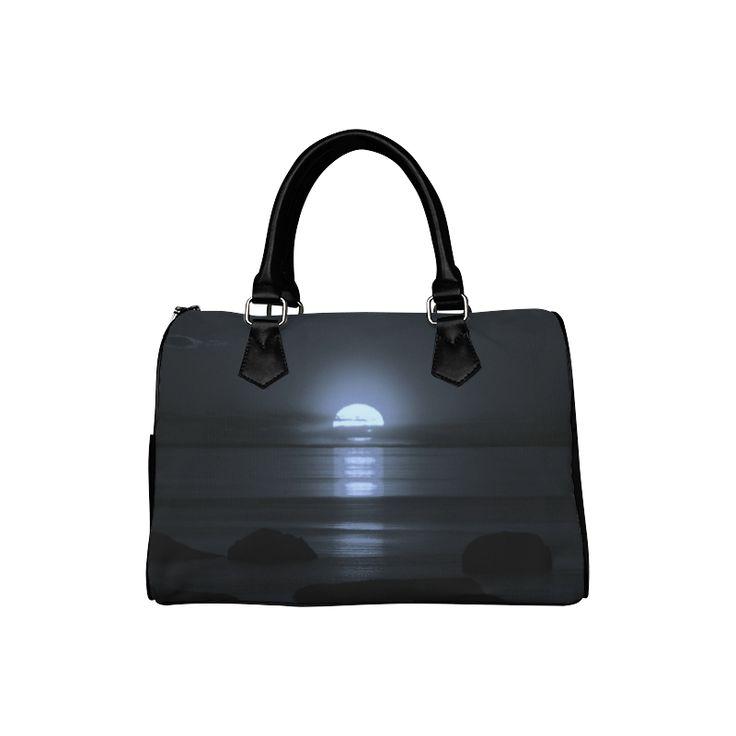 Moony Sunset Boston Handbag (Model 1621)
