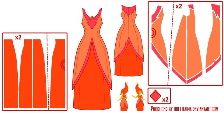 Flame Princess Pattern Draft by Hollitaima.deviantart.com on @deviantART think I will be here next year