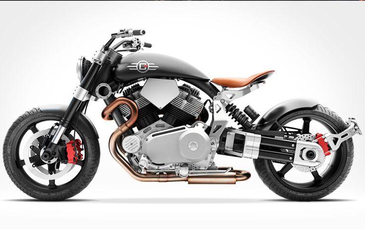 またもや魅力的なファイタースタイル・バイク「Confederate Motorcycles X132 Hellcat Speedster」