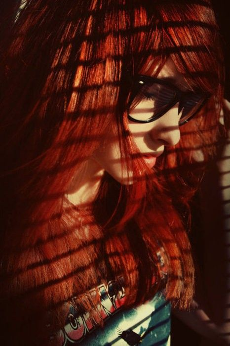 style: Ginger, Red Hair, Geek Girls, Glasses, Geek Fashion, For Redheads, Red Art, Geek Chic, Red Head