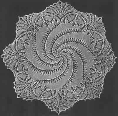 would like to try some doilies. Free pattern Knitting ...