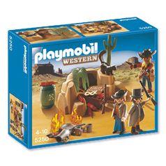 Playmobil bandieten met schuilplaats 5250