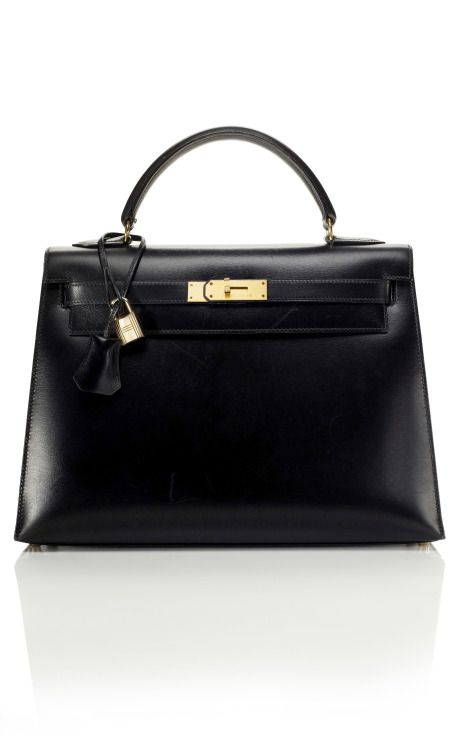 Hermes Kelly Bag! Black.