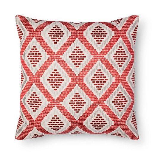 Red Diamond Oversized Throw Pillow - Threshold™ : Target