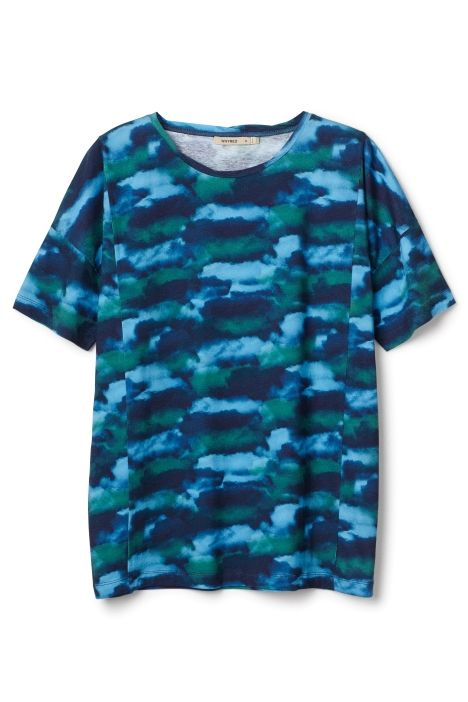 Bastienne cloud tshirt print