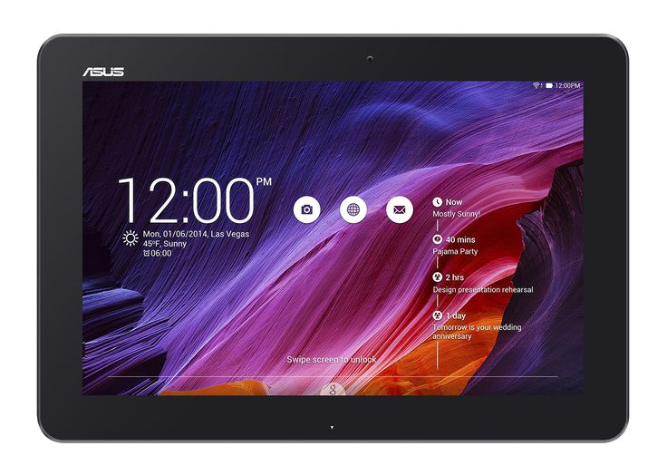 ASUS Transformer Pad TF103CX-A1-BK 10.1-Inch 16 GB Tablet (Black). 1.33 GHz quad-core Intel Atom processor, Android 4.4 KitKat. 16 GB Storage expandable by 64 GB with micro SD, 1 GB RAM. 10-inch HD IPS Display. Keyboard dock NOT included. Dual band 802.11 a/b/g/n Wi-Fi for faster web browsing. Over $270 worth of content and services included.