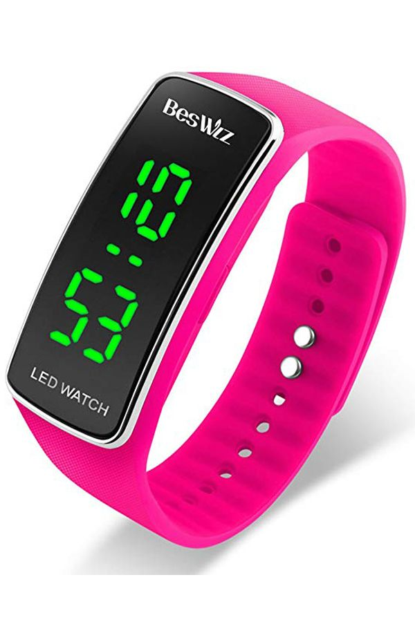 ffd86d604cd Unisex Digital Kids Digital Watches Waterproof Outdoor Sports LED  Wristwatch for Boys Girls Kids Teenager Pink