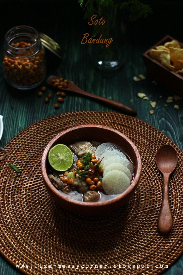 Soto Bandang, Indonesian beef shank stew.