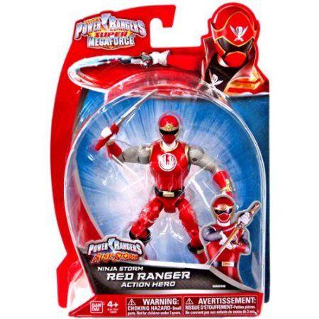 Power Rangers Super Megaforce Ninja Storm Red Ranger Action Hero Action Figure