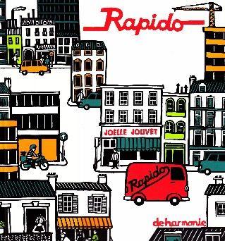 Rapido in de stad - De rode vrachtwagen Rapido is klaar voor zijn ronde door de stad...