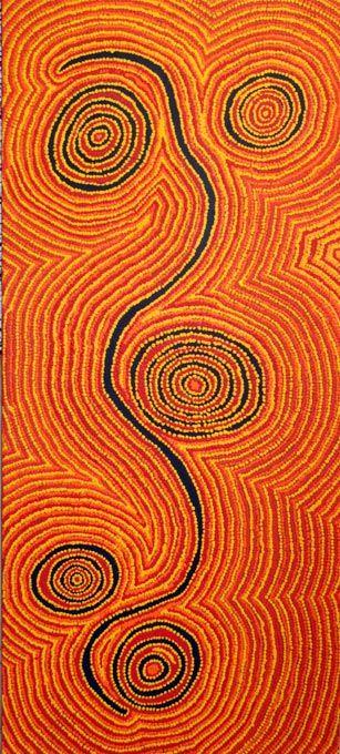 Jimmy TCHOOGA_Tjukukalyu_Art aborigene australien