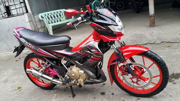 Suzuki raider 150 registered for sale or for swap in Santa Maria, Bulacan for ₱46,000. Complete papers and open deed of sale. For more info visit the following link:  #suzuki #raiders #forsale #for