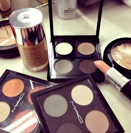 Mac makeup. Great nudes!