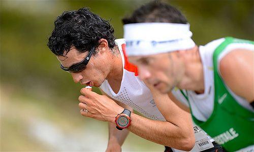 photo boillon christophe / photo sport panoramique / un autre regard sur le marathon du mont-blanc 2013 kilian jornet