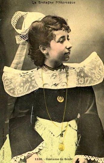 Costume de Scaër - Bretagne